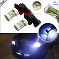 2 unids 8000 K Luz Azul de Alta Potencia 105 w 21-SMD CRE'E 9005 HB3 H10 Bombillas LED De Alta luz de carretera Daytime Running Lights, Faros de niebla