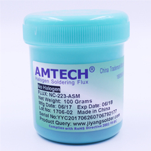 цена на 100% Original 100g AMTECH RMA-223-UV Solder Flux Paste for SMT/SMD BGA Soldering Repair