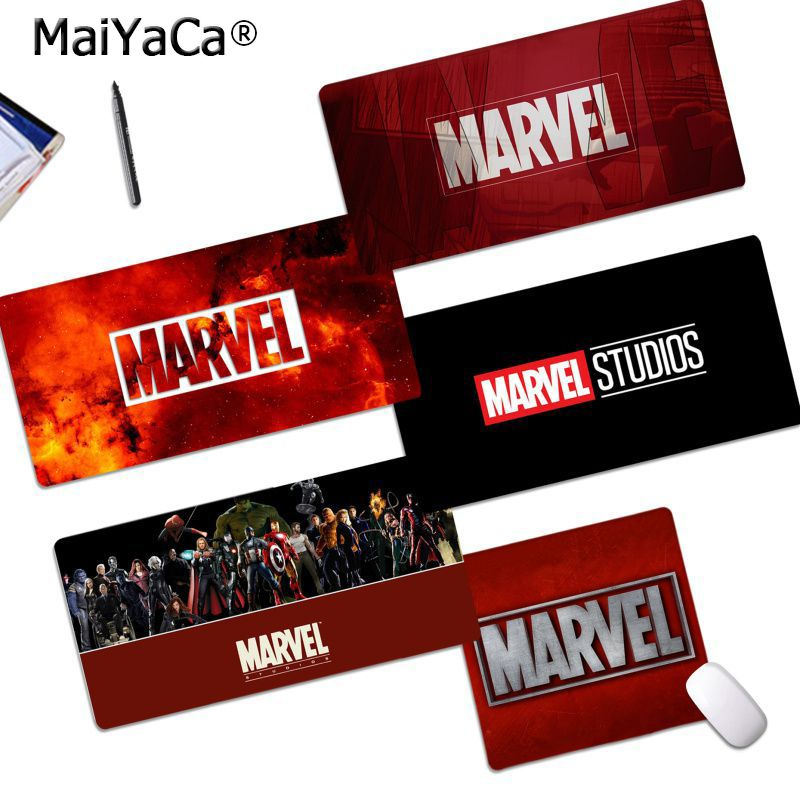 Maiyaca My Favorite Marvel Comics LOGO Rubber PC Computer Gaming Mousepad Free Shipping Large Mouse Pad Keyboards Mat