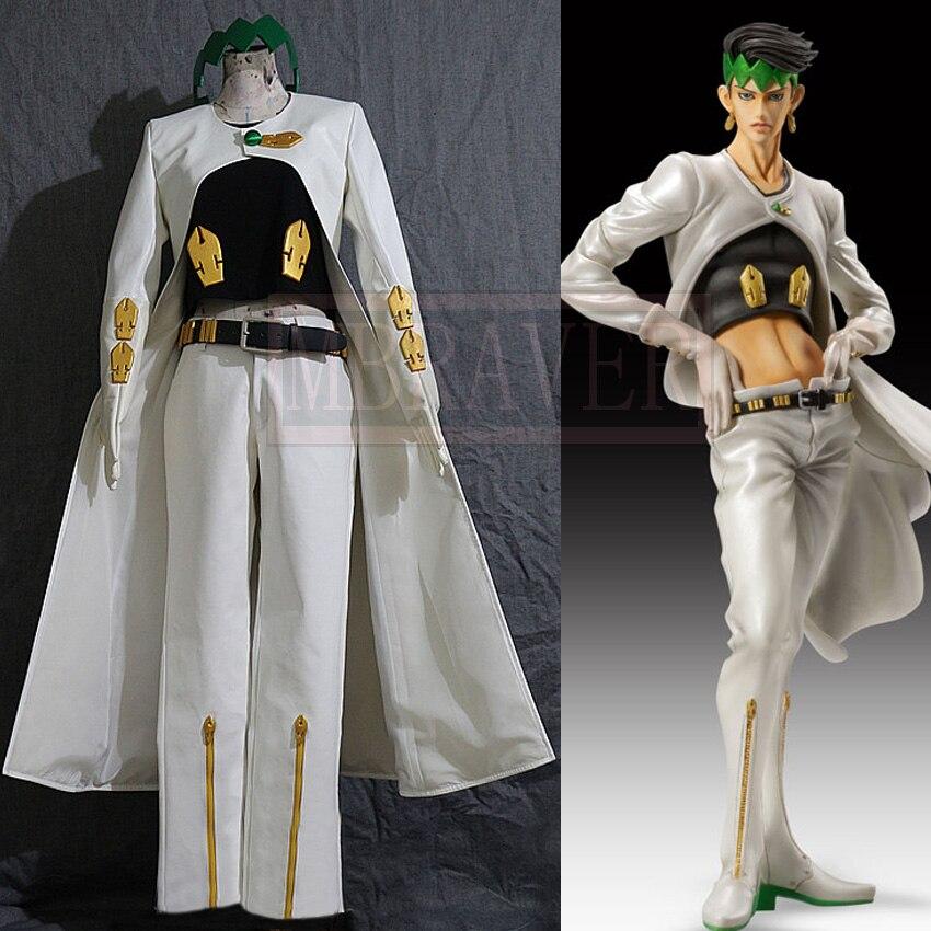 Di JoJo Bizarre Adventure Rohan Kishibe Costume Cosplay