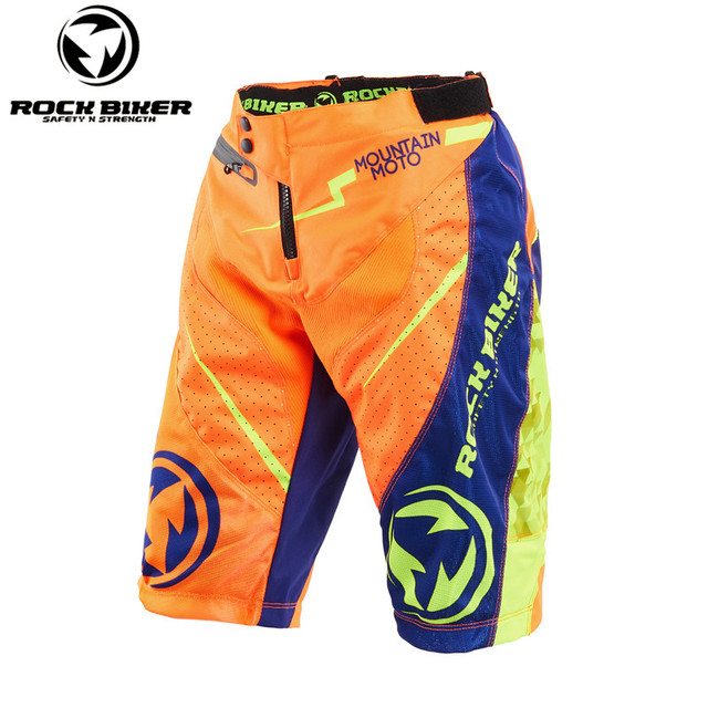 aaece378a New Mountain Bike Shorts MTB DH Downhill Freeride Motocross Motorbike  Bicycle Cycling DH Shorts Orange