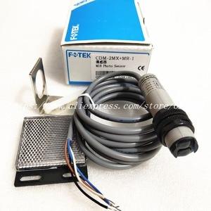 Image 2 - CDM 2MX + MR 1 FOTEK ใหม่กระจก Reflex ประเภท Photoelectric Switch Sensor เดิม
