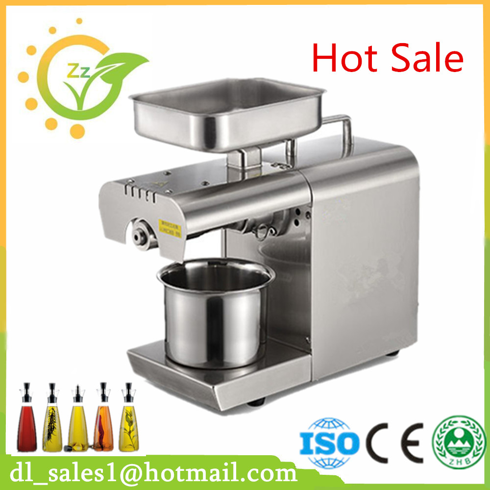 For Sale High Oil Extraction Rate Energy Saving Cold Press Oil Expeller Machine Small Mini Oil Press For Home Use best price 220v hot and cold home oil press machine peanut soy bean cocoa oil press machine high oil extraction rate for sale
