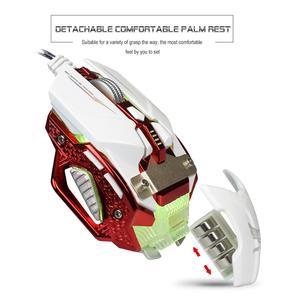 Image 5 - Mouse Da Gioco professionale HA CONDOTTO LA Luce USB Wired Mouse Da Gioco 8 Button 4000 DPI Regolabile Per PC Del Computer Portatile Gamer E  sport