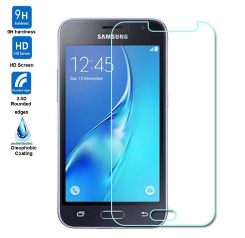 9H 2.5D Tempered Glass For Samsung Galaxy J1 (2016) J120F J1(6) Screen Protector On The For Samsung J1 2016 Protective Film Glas