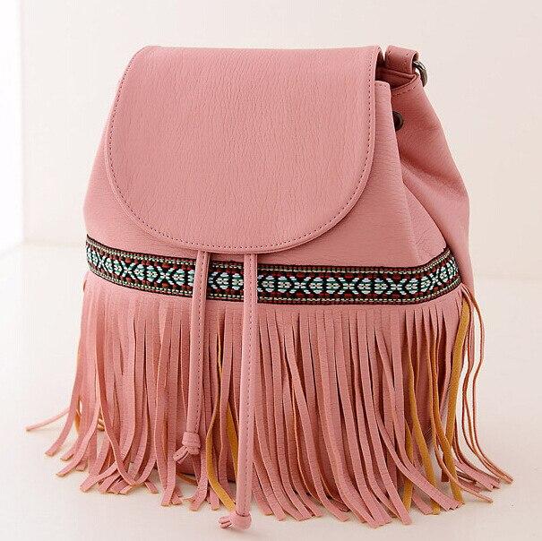 7d89012a03 2015 the latest European design women backpack Fashion fringed leather backpack  Bohemian backpacks for teenage girls mochila