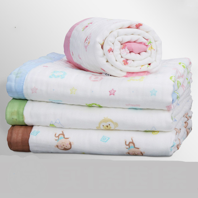 Good Quality Soft Comfortble Baby Blanket Baby Quilt Spring Summer Autumn Children's Big Towel Size Is 110*110 cm T01