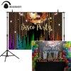 Allenjoy диско Фоны Фотофон для студийной съемки с блестками вечерние праздновать блестящие красочные украшения фотосессия фон баннер винил