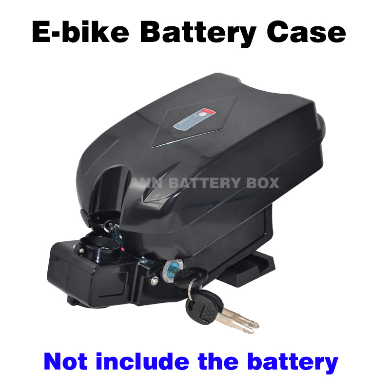 Free Shipping 36V lithium battery box E-bike battery case 36V little frog battery box/case Not include the battery lithium ion battery pack 36v li ion battery 18650 battery akku electric bike 36v 17 5ah silver fish battery for e bike