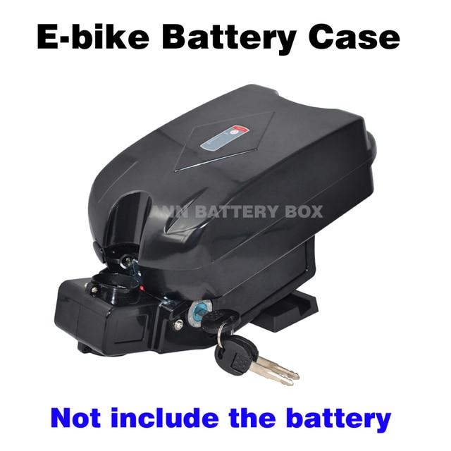 Ücretsiz kargo 36V lityum pil kutusu e bike pil kutusu 36V küçük kurbağa pil kutusu/vaka dahil değildir pil