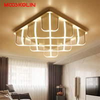 Surface Mounted Acrylic Modern Led Ceiling Lights For Living Room Bedroom Dimming Aluminum Ceiling Lamp Light