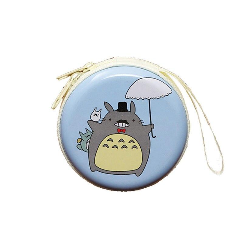 Лидер продаж, кошелек для монет с героями мультфильмов, Эльза, Анна, принцесса, чехол для ключей для девочек, кошелек, детский Снежная королева, гарнитура, сумка для монет - Цвет: Totoro 6