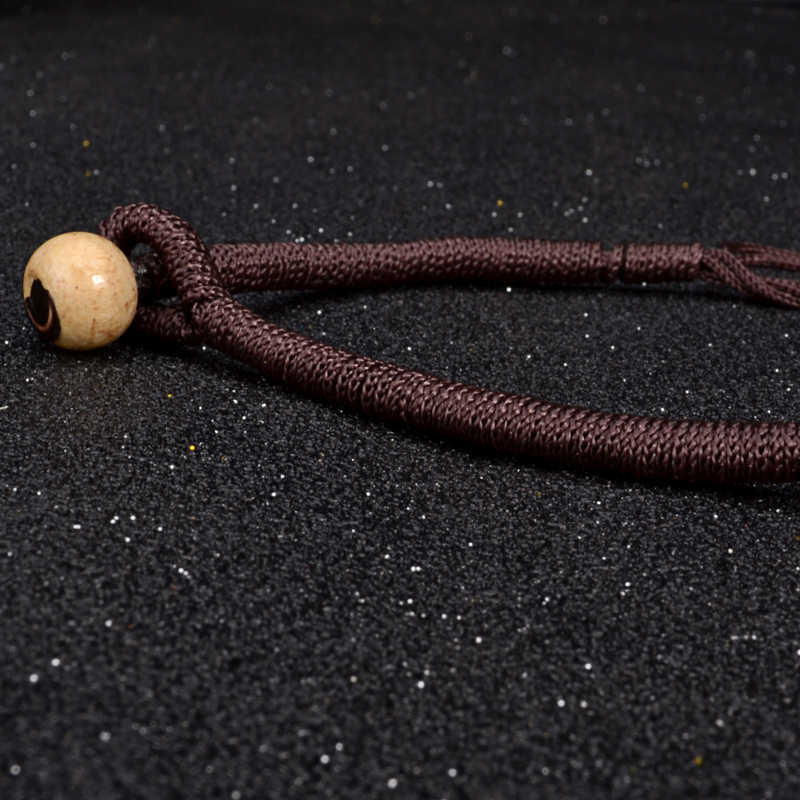 Colar e pingente de boêmia uddein, colar étnico com miçangas de multicamadas, joia vintage, declaração de mão, joia de madeira
