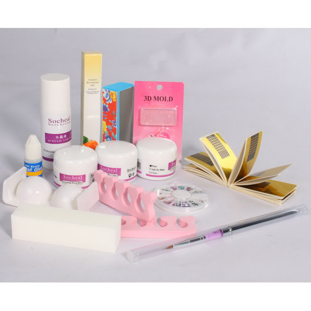 Online Buy Wholesale Acrylic Nail Kit From China Acrylic Nail Kit throughout acrylic nail art kit in pakistan intended for your reference