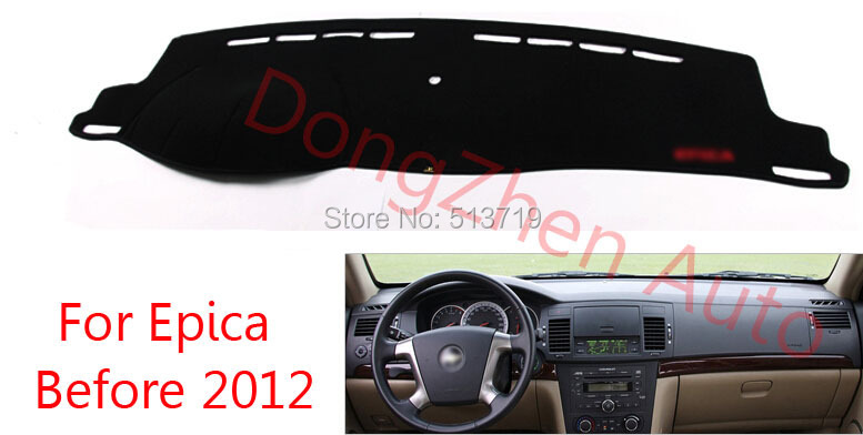 Car dashboard Avoid font b light b font pad Instrument platform desk cover Mats Carpets Auto