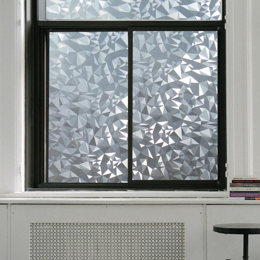 Fenster Undurchsichtig polygon form undurchsichtig statische glasfenster datenschutz
