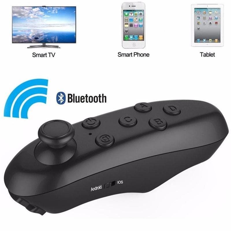 <font><b>Bluetooth</b></font> Gamepad iOS Android Gamepad <font><b>VR</b></font> Controller Joystick Selfie Shutter Remote Control for Phone PC TV box Smart TV