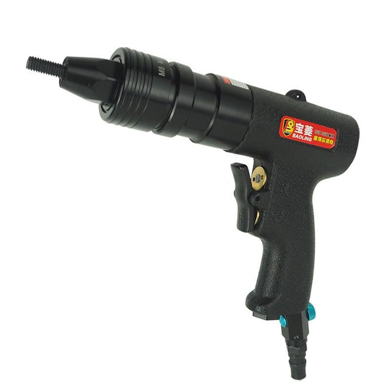 Pneumatic Rivet Nut Gun Rivet Gun Pull Cap Gun Automatic Nut Grab Ram Gun Tool M3/M4/M5/M6/M8/M10