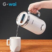 100 240 v портативный маленький Электрический чайник для путешествий