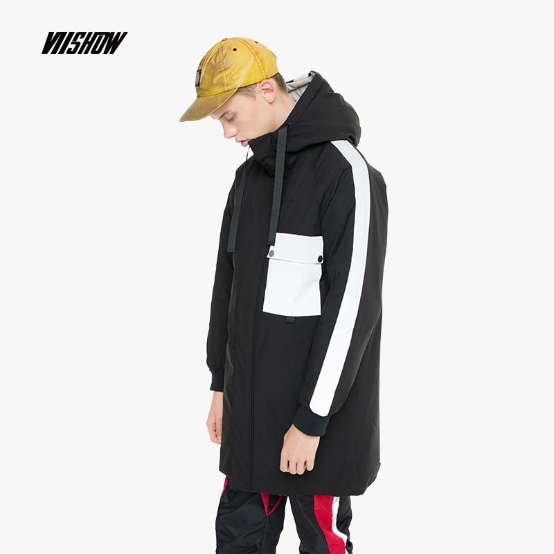 VIISHOW White Duck Men's   Down   Jacket Brand Winter Jacket For Men Doudoune Homme 2018 Hooded Men's Winter Jacket   Coat   YC2450184