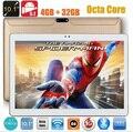 2017 DHL Libre 10 pulgadas tablet pc Android 5.1 Octa Core 4G RAM 64 GB ROM 1280*800 IPS 5.0MP Bluetooth GPS 3G tabletas + Regalos