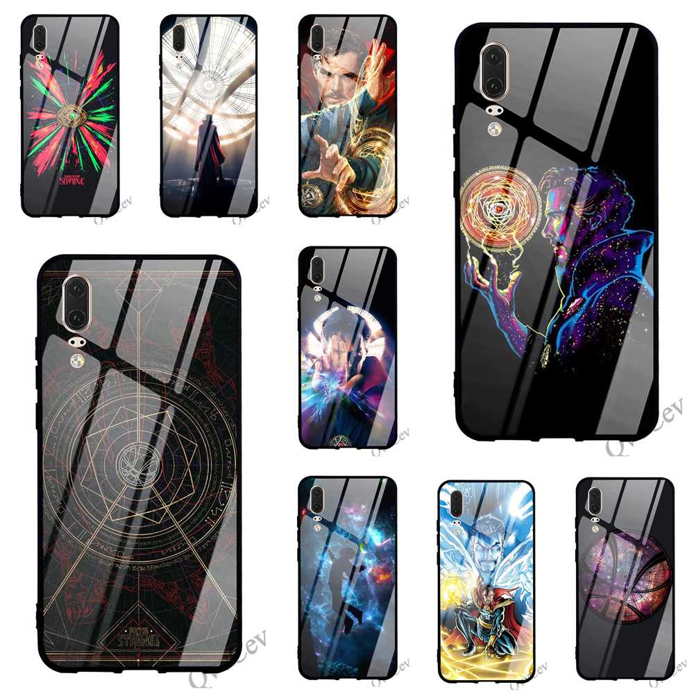 Fashion Dr Doctor Strange Glass Phone Case For Huawei Y6 Cover 9 Honor 10 7a Y9 P10 P20 Pro P Smart Mate 20 Lite Backshell To Win A High Admiration Cellphones & Telecommunications Fitted Cases