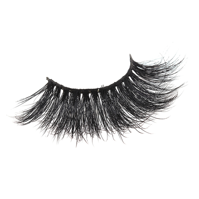 1 Pair 25mm False Eyelashes Thick 5D Mink Lashes Makeup Dramatic Long Lashes @ME88 4
