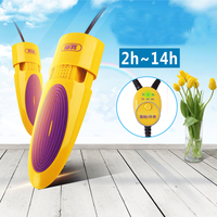 send EU adapter 15W Retractable high temperature bake dry shoes sterilization Telescopic deodorant smell children baking tools