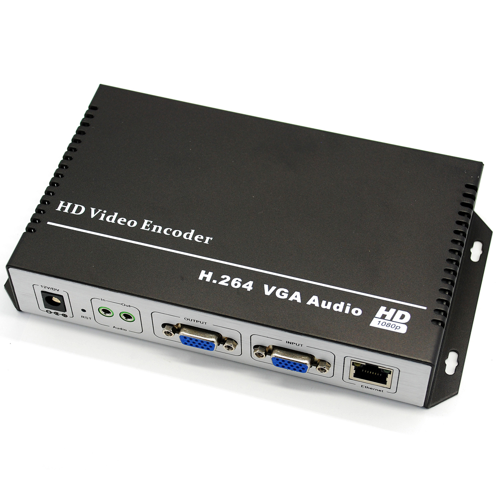 URay H.264 VGA + Audio Stereo Në Encoder IP të Streamit IPTV - Audio dhe video në shtëpi - Foto 3