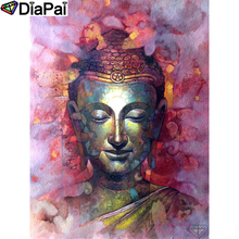DIAPAI Diamond Painting 5D DIY 100% Full Square/Round Drill Religious Buddha Embroidery Cross Stitch 3D Decor A24784