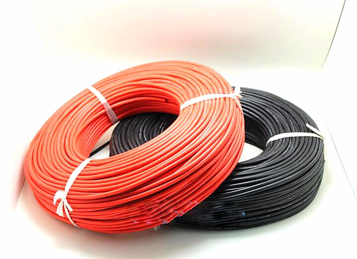 2x 3M 8 10 12 14 16 Gauge AWG Silicone Rubber Wire Cable Red Black Flexible Wonderful Gift 14awg gauge silicone wire flexible stranded copper cables 5m for rc black red