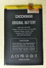 In Stock For Doogee Y6 Max Battery 4300mAh  Replacement accessory accumulators For Doogee Y6 Max +Tools+Adhesive стоимость