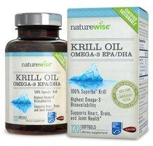 USA Aceite De Krill, Eco-Cosecha, Sostenible certificada, GPS completa Trazabilidad en La Botella, 500 mg, 120 count