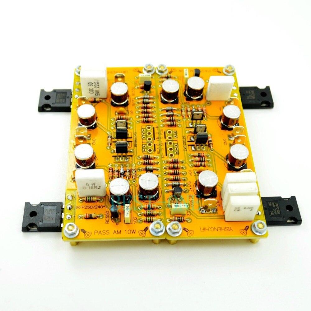 YS PASS AM 2 PCs Class A Single-channel Amplifier Board 10W Unbalanced Input With Balanced Input Amplifiers DIY KitsYS PASS AM 2 PCs Class A Single-channel Amplifier Board 10W Unbalanced Input With Balanced Input Amplifiers DIY Kits