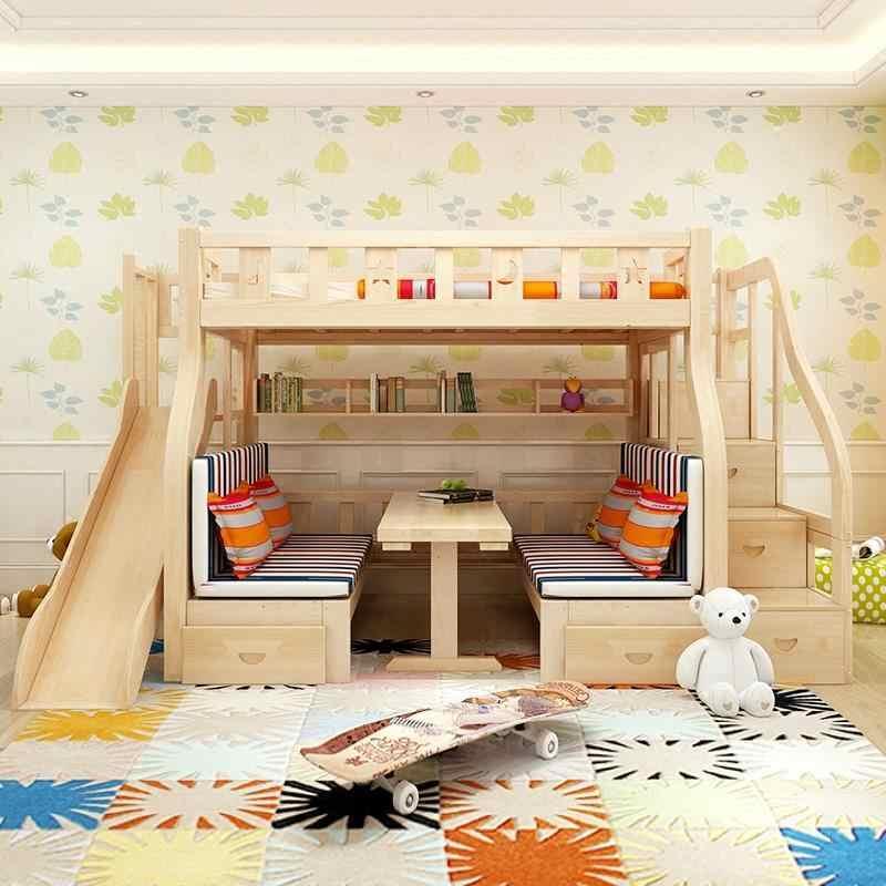 Тоторо Кастелло дети Mobilya Mobili Letto Matrimoniale набор Recamaras Cama модерана Mueble мебель двойная двухъярусная кровать