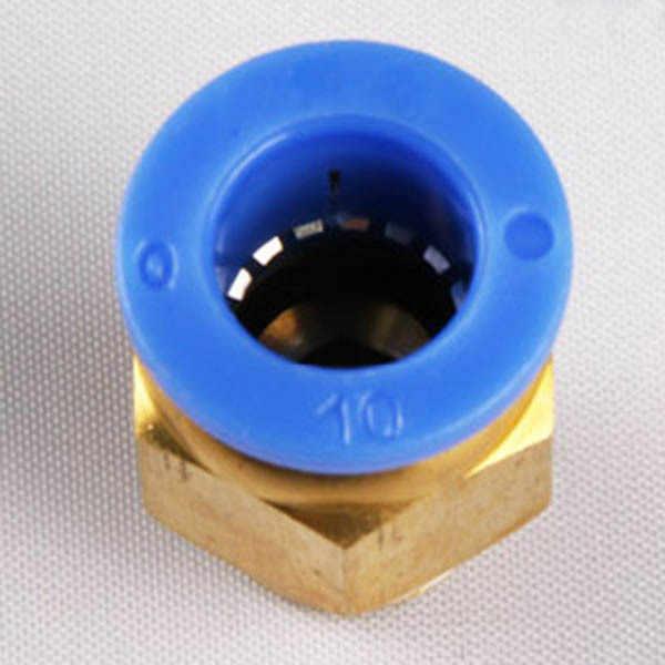 8mm 1/8 inch không thẳng bằng khí nén kèm ống PC8-02 Một vòi cảm ứng nhanh ống thoát khí Cổng kết nối