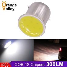 1 шт. 1156 COB P21W BA15S 12 чипов задний сигнальный светильник s задние фонари стояночный светильник авто DRL автомобильный светильник ing