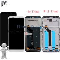 5 99 For Xiaomi Redmi 5 Plus Full LCD DIsplay Touch Screen Digitizer Assembly With Frame