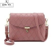 Новый маленький кожаные женские сумочки плечо мини-сумка-мешок через плечо основной Femme женская сумка Длинный ремень женский клатч