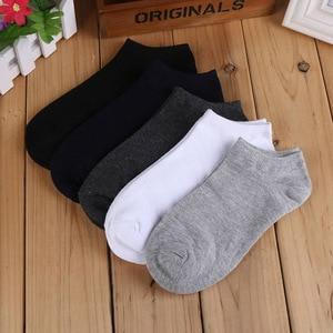 Image 4 - 20 paare/los Mode Socken Herren Gestreiften Socken Kurze Knöchel Low Cut Baumwolle Casual Socke Kleid Socken