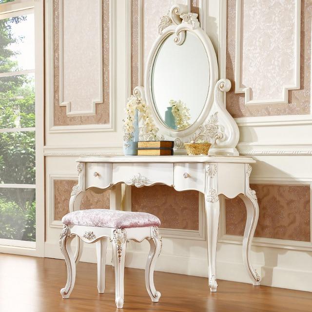 3 Stucke Franzosisch Design Kommode Spiegel Tisch Und Stuhl In 3