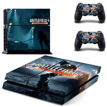 BATTLEFIELD 4PS4 Designer Skin for Sony PlayStation 4 Console System plus Two(2) Decals for PS4 Dualshock Controller