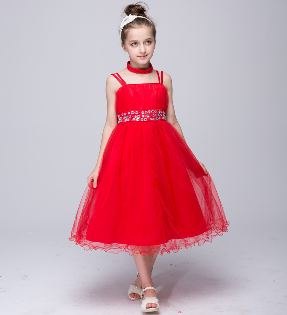 Online Get Cheap Red Dresses For 12 Year Olds Aliexpress