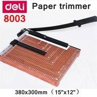 [ReadStar] Deli 8003 ручной триммер для бумаги размер 380x300 мм (15 x 12) Большой триммер для бумаги с регулировкой размера резки