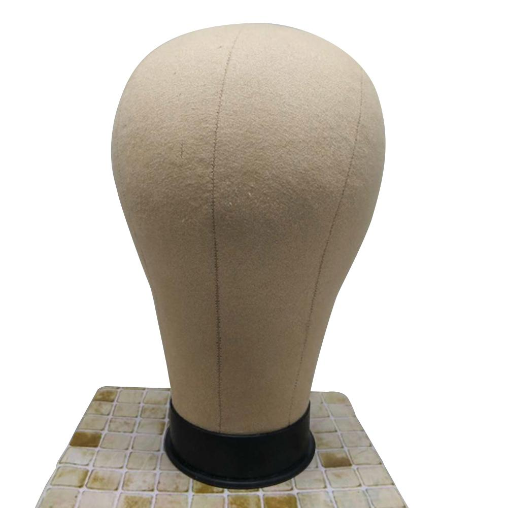 Mannequin Model Canvas Block Head Salon Shop Wig Hat Jewelry Display Stands