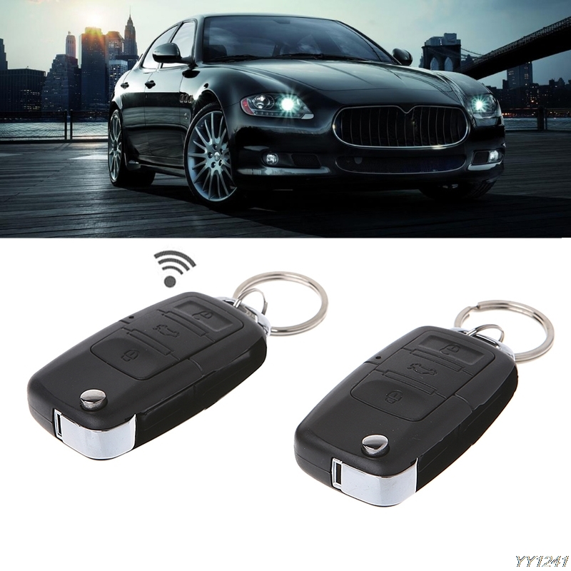 Universal Car Alarm Systems 12V Auto Remote Central Kit Door
