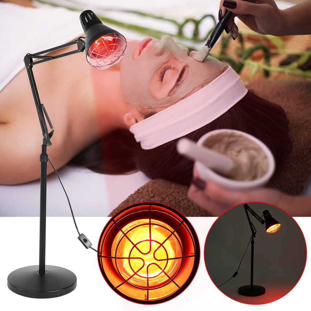 275W Adjustable Temperature Infrared Light Heating Therapy Lamp Muscle Pain Cold Relief Lamp Light Therapy Infra Care цена