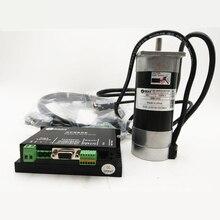 Leadshine 180 Вт бесщеточный DC Servo Двигатель + drive kit BLM57180-1000 + ACS606 + кабель 6.7A 36VDC 0.57NM 3000 об./мин. импульса Управление