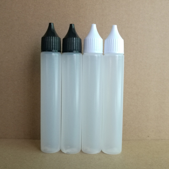 30 мл PE пластиковая капельница бутылка для E жидкости и сока с наконечником иглы капельница мягкая ручка стиль многоразового использования Бутылка 500 шт./лот