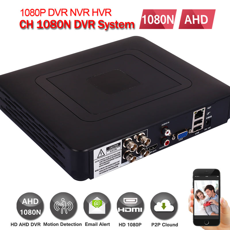 CCTV AHD DVR AHD DVR BNC/RCA AHD Video Recorder Professional Home Security For AHD Camera IP Camera Analog Camera ahd